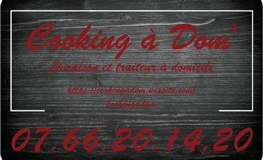 Visuel du projet Face à la crise Cooking à Dom' a besoin de vous