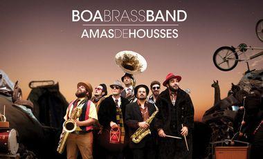 """Project visual Boa Brass Band, nouvel album """"Amas de Housses"""""""