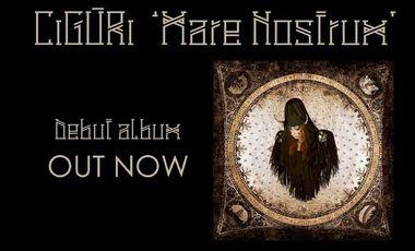 Visueel van project CiGÙRi - Mare Nostrum (Debut album preorder)
