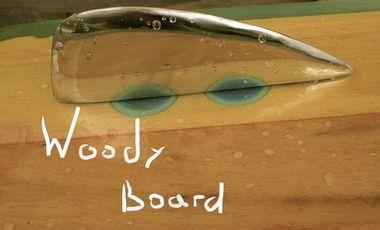 Visueel van project WoodY board