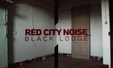 """Project visual """"BLACK LODGE"""" pressage vinyl du 1er album de RED CITY NOISE"""