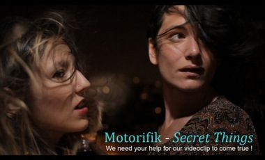 Visueel van project We need you for our videoclip to come true !