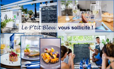 Project visual Chers clients, chers amis, aidez le P'tit Bleu