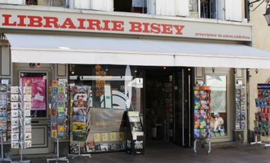 Project visual 68 - Librairie Bisey à Mulhouse