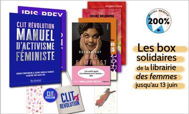 Visueel van project Les box solidaires de la Librairie des femmes