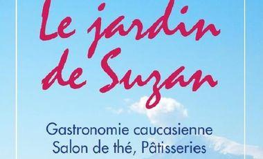 Project visual Jardin de Suzan restaurant végétarien et vegan