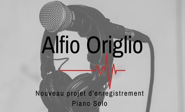 Project visual Alfio Origlio. Piano Solo