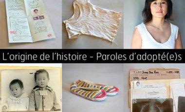 Visueel van project L'origine de l'histoire - Paroles d'adoptés