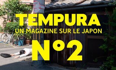 Visuel du projet TEMPURA N°2, le magazine sur les cultures du Japon - Précommandes !