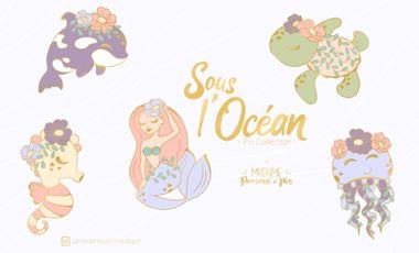Visuel du projet Sous l'Océan - Pin Collection