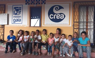 Visueel van project Sauver le centre culturel et social CREA à Minca en Colombie