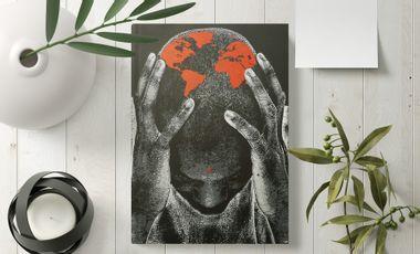 Visueel van project Coron[ART]virus x JEF AÉROSOL