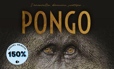 Visueel van project PONGO, à la rencontre des Orangs-outans. Un livre au service de la Nature.