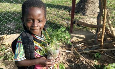 Project visual GUERIR DES ENFANTS DE LA MALARIA AU BURKINA FASO