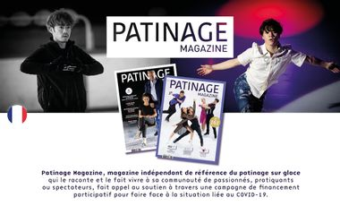 Visueel van project Patinage Magazine : The magazine of reference for ice figure skating