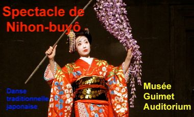 Project visual Spectacle de Nihon-buyô au Musée Guimet
