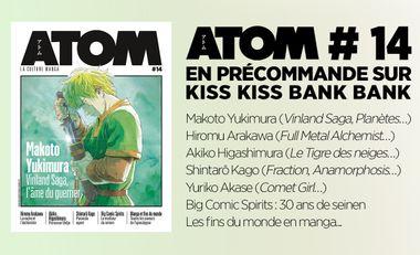 Visueel van project ATOM, la culture manga – numéro 14 édition augmentée, 148 pages