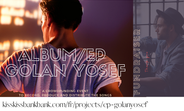 Visueel van project First EP by GOLAN YOSEF and music video Girl You're Free