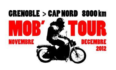 Project visual Le Mobtour - 8000 km en mobylette