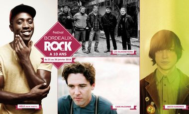 Visueel van project Soutien au Festival Bordeaux Rock 2014