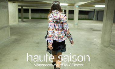 Visueel van project HAUTE SAISON, Vêtements de pluie, Biarritz