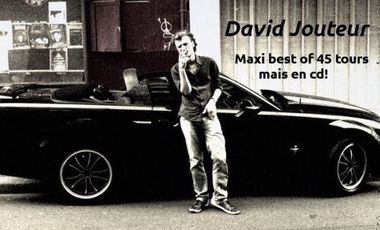 Visueel van project Sortie du maxi best of 45 tours mais en cd de David Jouteur!