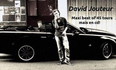 Project visual Sortie du maxi best of 45 tours mais en cd de David Jouteur!