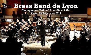 Visueel van project Le Brass Band de Lyon au Championnat National de Brass Band 2014