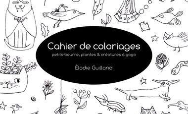 Visueel van project Cahier de coloriages, petits-beurre, plantes et créatures à gogo