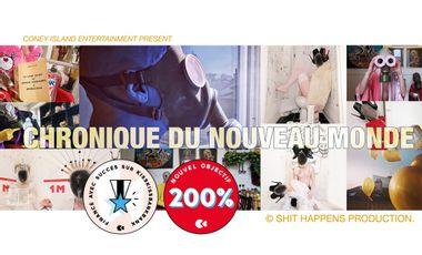 Project visual LES CHRONIQUES DU NOUVEAU MONDE / Coffret Collector