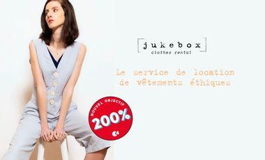 Visueel van project Jukebox - Le service de location de vêtements éthiques