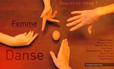"""Project visual Spectacle de danse """"FEMME"""""""