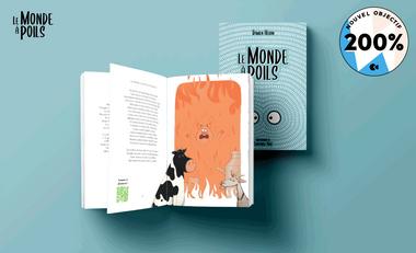 Visuel du projet Le Monde à Poils - Recueil 100 fables
