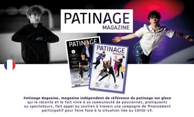 Project visual Patinage Magazine : Le magazine incontournable de la glace