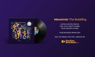 Project visual Le premier album de Mawimbi en vinyle !