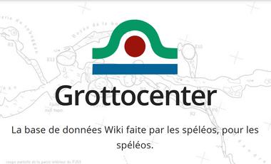 Visuel du projet Grottocenter : la base de données spéléo du  21eme siècle