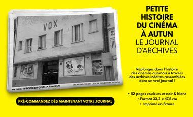 Visuel du projet Petite histoire du cinéma à Autun: le journal d'archives