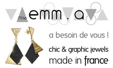 Visueel van project Mlle emm.a [chic & graphic jewels]