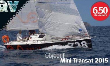 Visuel du projet Embarquez avec Quentin Vlamynck pour la Mini Transat 2015