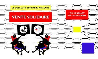 Visueel van project Le Collectif Éphémère œuvre en faveur du Secours Populaire !