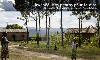Visuel du projet Rwanda, des photos pour le dire