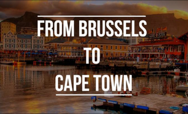 Project visual From Brussels to Cape Town