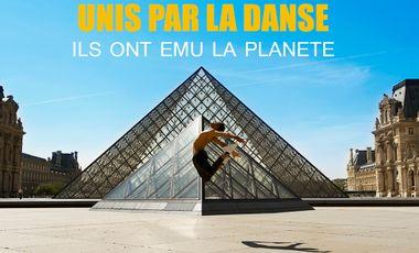 Visueel van project Unis par la danse, ils ont ému la planète.