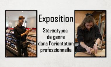 Visueel van project Dé-genre & des métiers - expo photo pour favoriser la mixité professionnelle