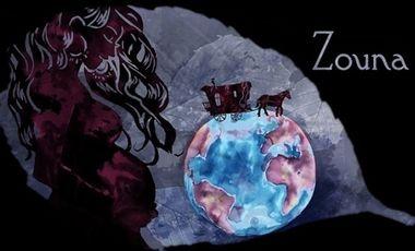 Project visual Zouna, conte musical de la compagnie du Hêtre