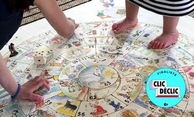 Visueel van project Le jeu de l'oie vintage géant