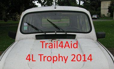 Visueel van project Trail4Aid 4L Trophy 2014