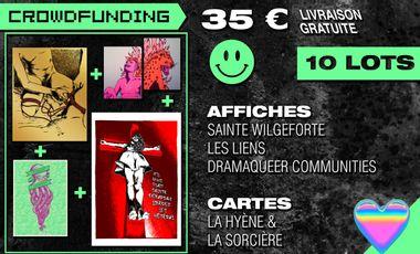 Project visual Sainte Débarras / Sainte Wilgeforte