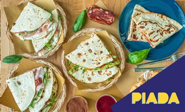 Project visual Piada 2 - Le temple de la street food Italienne !