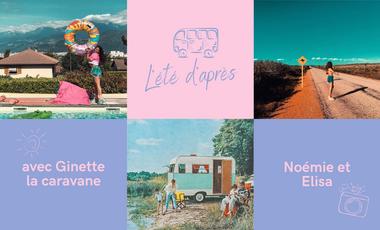 Visuel du projet Documentons l'Été d'après avec Ginette la caravane